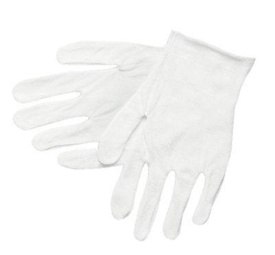 Lisle Cotton Inspector Gloves Mens Large 36 Pack 100/% Cotton
