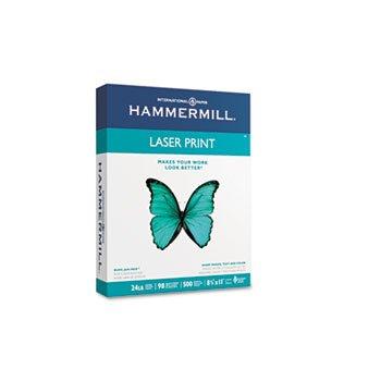 Hammermill® Laser Print Office Paper PAPER,LASERPRINT,WHT,LTR (Pack of10)