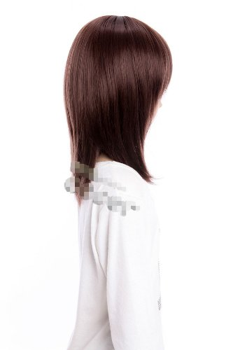 Cosplay wig medium brown wig of Vampire Knight wig lacefront wig for girls party wig