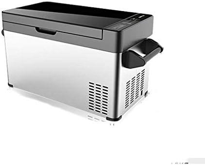 ポータブルフリーザークーラーコンプレッサー冷蔵庫冷蔵庫トラックRVボートパーティーピクニックキャンプ(18/20/30/37リットル)