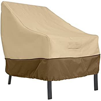 oversized patio furniture. Classic Accessories Veranda Patio Lounge Chair/Club Chair Cover - Durable And Water Resistant Outdoor Oversized Furniture
