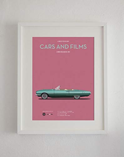 MugKD LLC Thelma and Louise car Movie Poster Gifts for Lovers Poster [No Framed] Poster Home Art Wall Posters]()