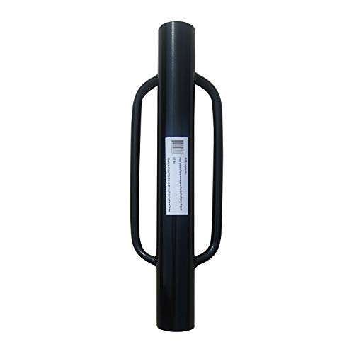 MTB Fence Post Driver with Handle, 12LB Black. Your Best Garden Partner!