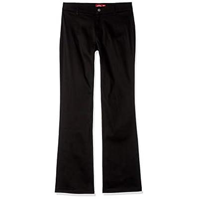 Dickies Girl Juniors' Worker Bootcut Pants: Clothing