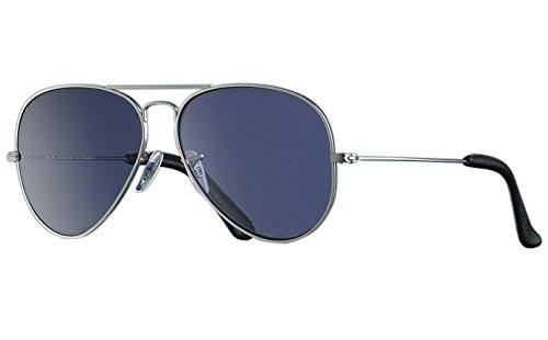 BNUS Italy made Aviator Polarized Sunglasses for men with Corning Natural Glass True Color Lenses (Light Grey, - S Men Fashion Sunglasses