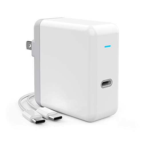 Onforu 45W USB C Power Adapter, UL Listed Power Delivery Wall Charger, Fast Charger for MacBook Pro, iPad Pro, Type C Port Laptop, Smartphone, Nintendo Switch, etc (USB C-C Cable Included) by Onforu