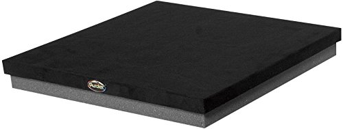 Auralex ISO Series Subwoofer Risers Isolation Platforms Subdude-II (4 Pack), Black, 1 3/4