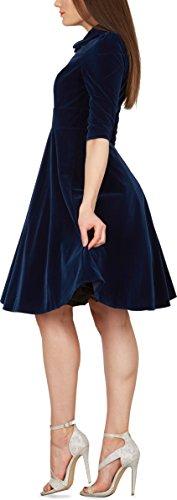 Pin Clarté Cru « Blackbutterfly Amelia Up Robe Bleu Nuit