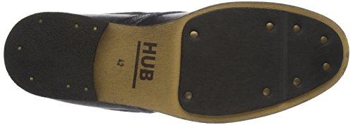 Hub Lomu L80, Zapatos de Cordones Derby para Hombre Schwarz (Black 016)