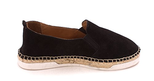 André Assous Womens Shane Suede Closed Toe Mules Black/Suede cZX1DiY