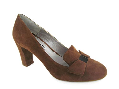 Aquatalia by Marvin K Women's Tutu Pump Brown 6 BRN Aquatalia By Marvin K Pumps