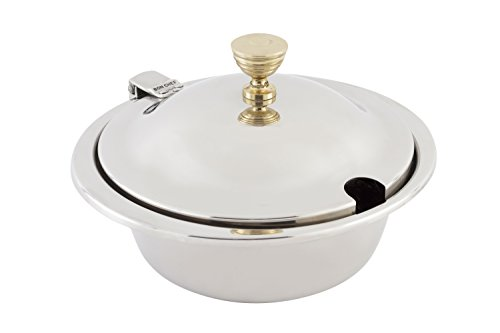 Bon Chef 5230 Stainless Steel Hot Solutions Induction Bottom Mini Chafing Dish, 13