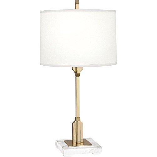 Robert Abbey Empire Modern Brass Accent Table Lamp ()