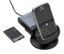 BlackBerry RIM Power Station with Extra Battery Charger for BlackBerry Bold 9000 (Blackberry Bold 9000 Cradle)