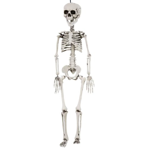 Scary Halloween Props Decorations Hanging Skeleton Realistic 28