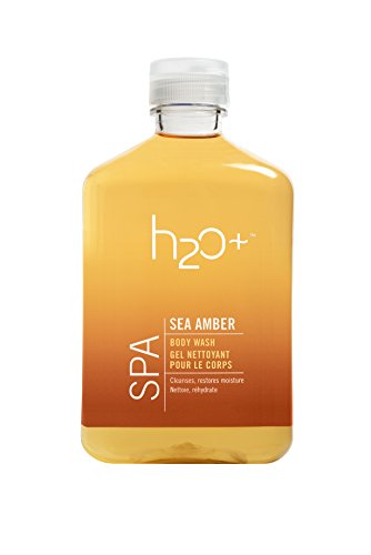 H2O Spa Sea Body Wash, Amber, 12.1 Ounce