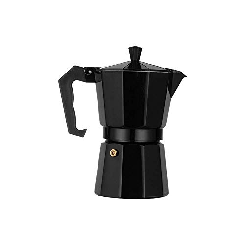 Moka Coffee Pot Espresso Maker Stovetop Coffee Maker Percolator Italian Classic Cafe Maker Made of Stainless Steel Suitable for Induction Cookers