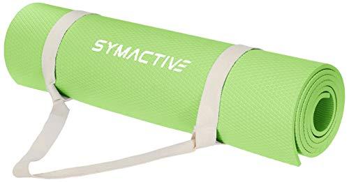 Amazon Brand – Symactive Exercise Yoga Mat, 8mm