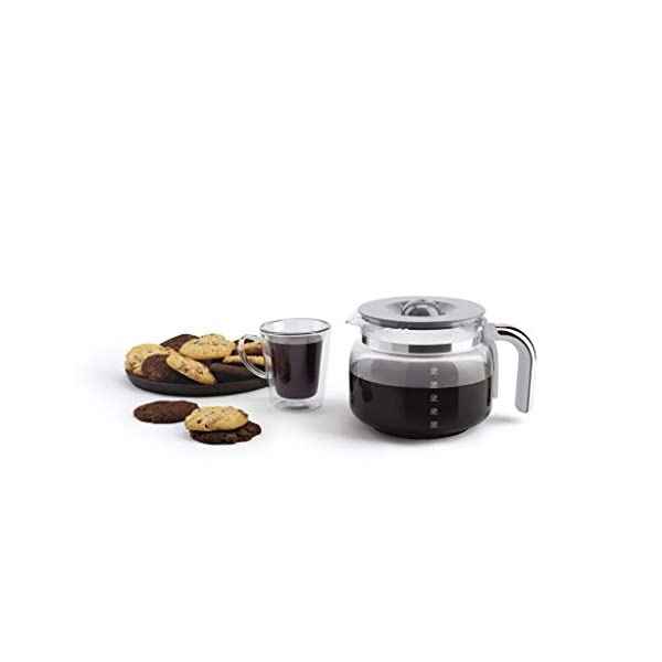 Smeg 50's Retro Style Aesthetic Drip Filter Coffee Machine, 10 cups, Pastel Green 5