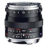 Carl Zeiss Planar T* 50mm ƒ/2 Normal ZM Mount Manual Focus Lens - Black