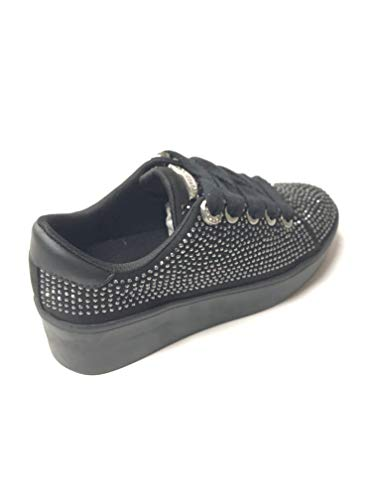 fabric Femme Black Guess Baskets Townie active Lady wq0wtR1F