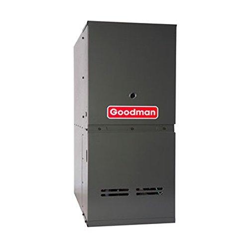 (Goodman GDS81005CN Gas Furnace, Single-Stage Burner/Multi-Speed Blower, Downflow 80% AFUE - 100,000 BTU)