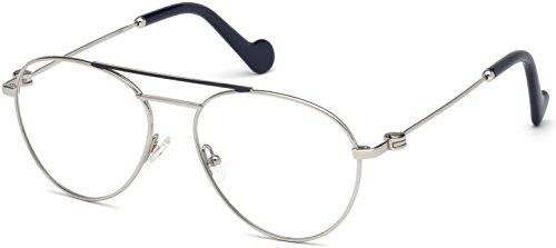 Eyeglasses Moncler ML 5023 016 shiny palladium