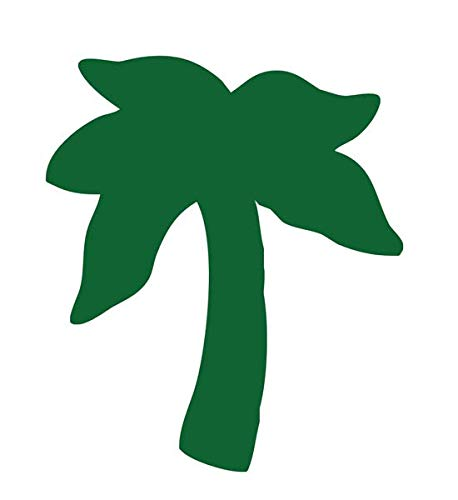 Palm Tree Tanning Stickers