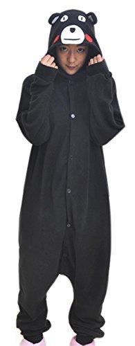 Real Bear Costumes (La Vogue Cartoon Bear Costume Animal Pajamas Kigurumi Onesie Cosplay Costume XL)