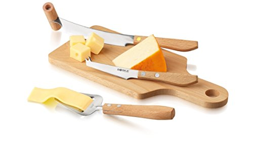 Boska Holland Geneva Collection Explore Cheese Knife Set for Soft to Hard Cheese