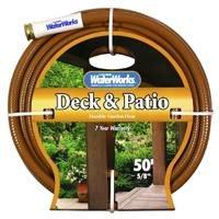 "Deck & Patio Hose 5/8 "" X 50 ' Black"