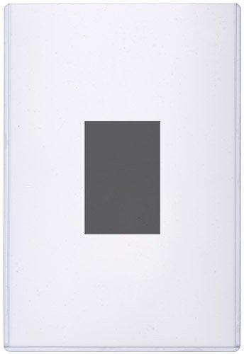 StoreSMART - Magnetic-Back Rigid Protectors 5-Pack - 5 x 7 - Clear Plastic Sign Holders - Refrigerator or Locker Magnet - Top Loaders - HPP5X7M-5