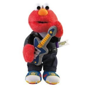 Roll Elmo (Sesame Street ROCK & ROLL ELMO Commerative Plush (1999))