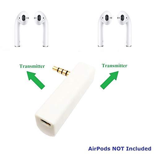 KOKKIA iSPLITTER (White) : iAdapter Multi-Streaming Bluetooth Stereo Transmitter Splitter. by KOKKIA (Image #1)