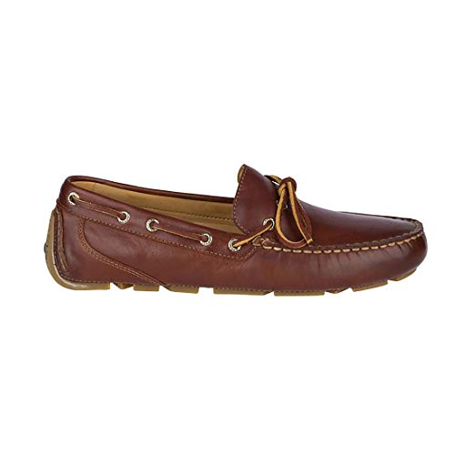 SPERRY Men's Gold Cup Harpswell 1-Eye Driver Casual Shoe, Tan - 9 M