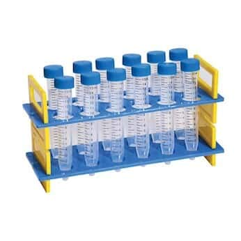 Cole-Parmer Test Tube Rack with 15 mL tubes