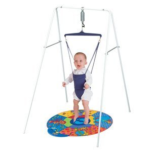 d2476ab35f44 Amazon.com   Jolly Jumper on a Stand with Playmat   Baby