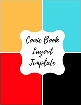 comic book layout template blank empty cartoon strips 8 5 x 11 in