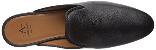 Aquatalia Women's Calf Black Emerson Mule Metallic Cwqx8rCHv
