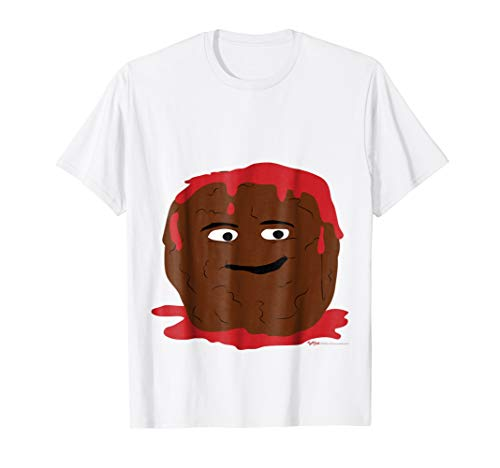 My Belly Meatball Tomato Sauce Mask Halloween Costume T Shi for $<!--$16.88-->