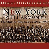 Historic Broadcasts 1923-1987 by New York Philharmonic