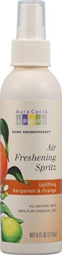 Orange Bergamot Air Freshener (Aura Cacia Air Fresh Spritz Berg/Orn 6)