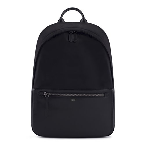 ISM: The Backpack (Black) | Leather Laptop Backpack | Work Backpack | Black Leather Backpack | 15inch Laptop Backpack |