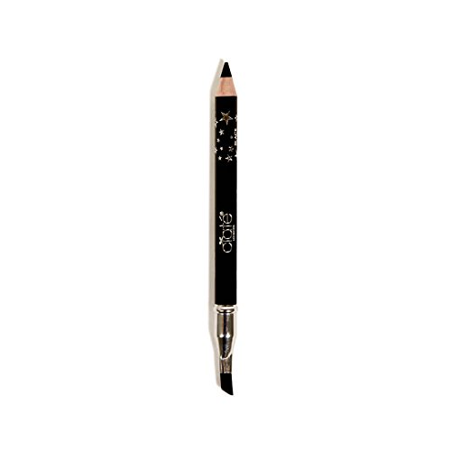 Ciaté London Wonderwand Gel-Kohl Hybrid Eye Liner in Black - 0.28 oz Travel Size - Double Ended Eyeliner With Blending / Smudging Brush