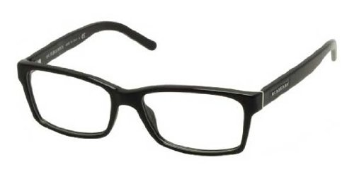 Burberry BE2108 Eyeglass Frames 3001-5216 - Black BE2108-3001-52