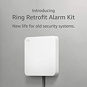 Ring Retrofit Alarm Kit - existing wired security system and Ring Alarm required, professional installation recommended