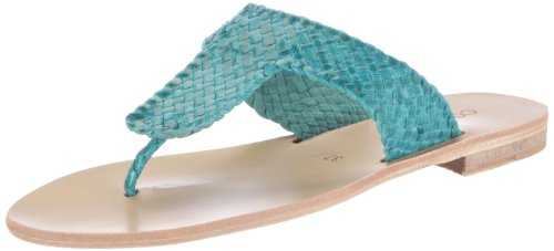 Cb Læder Koral Sandaler Blå v212504 Turkis Kvinder Kjole wHBqx