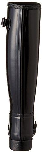 Gloss Hunter Original Black Boots Refined Rain Womens tqtx7Rr