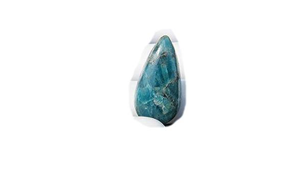 Amaze Quality Of Gemstone For Making Precious Jewelry Q-2850 Cabochon Loose Gemstone Apatite Pear Shape 24x13x7mm 19Ct
