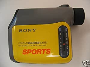 Sony SRF-X90 Ultimate Sports AM/FM Radio with 8x monocular for watching sport